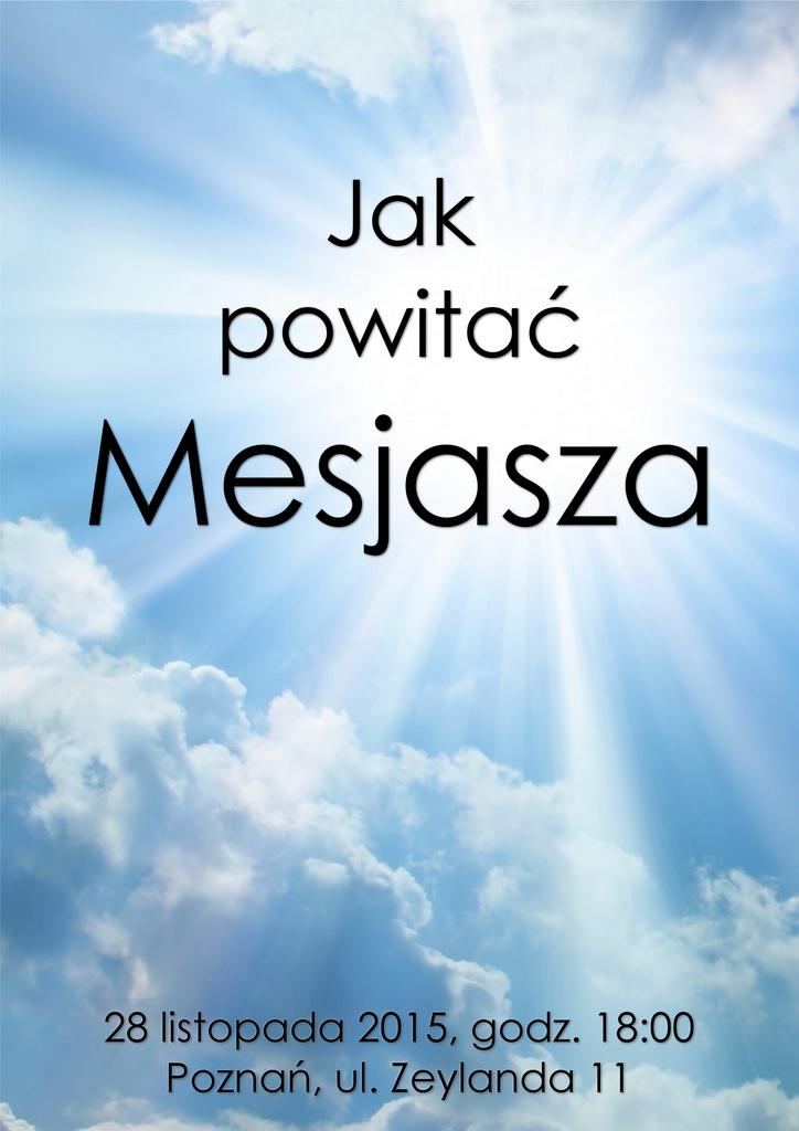 Jak powitać Mesjasza