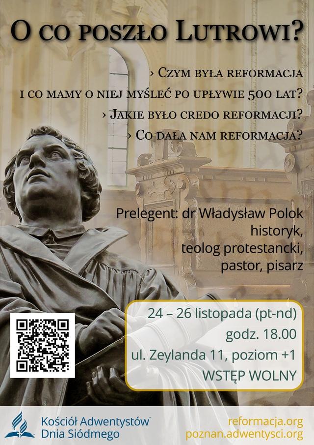 Reformacja Marcin Luter